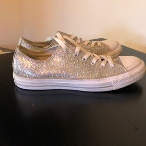 Sparkly Converse All-Star Shoes